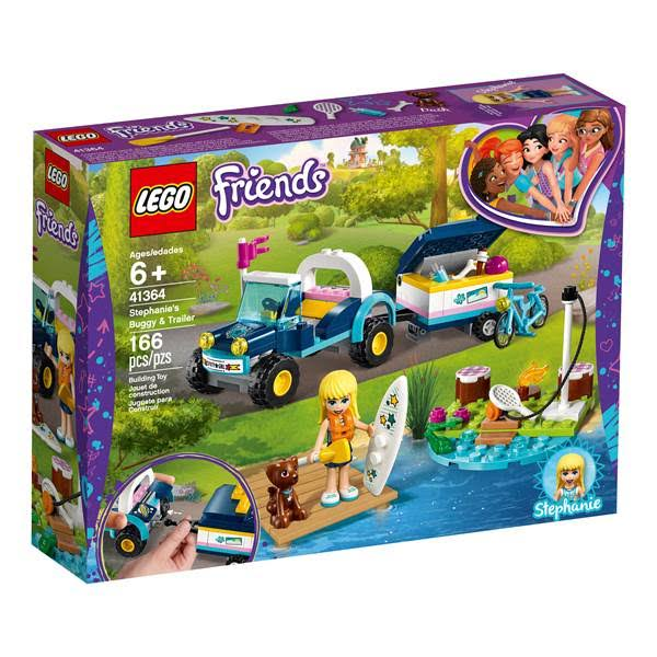 Lego Friends Stephanie's Buggy and Trailer Building Toys - 166pcs