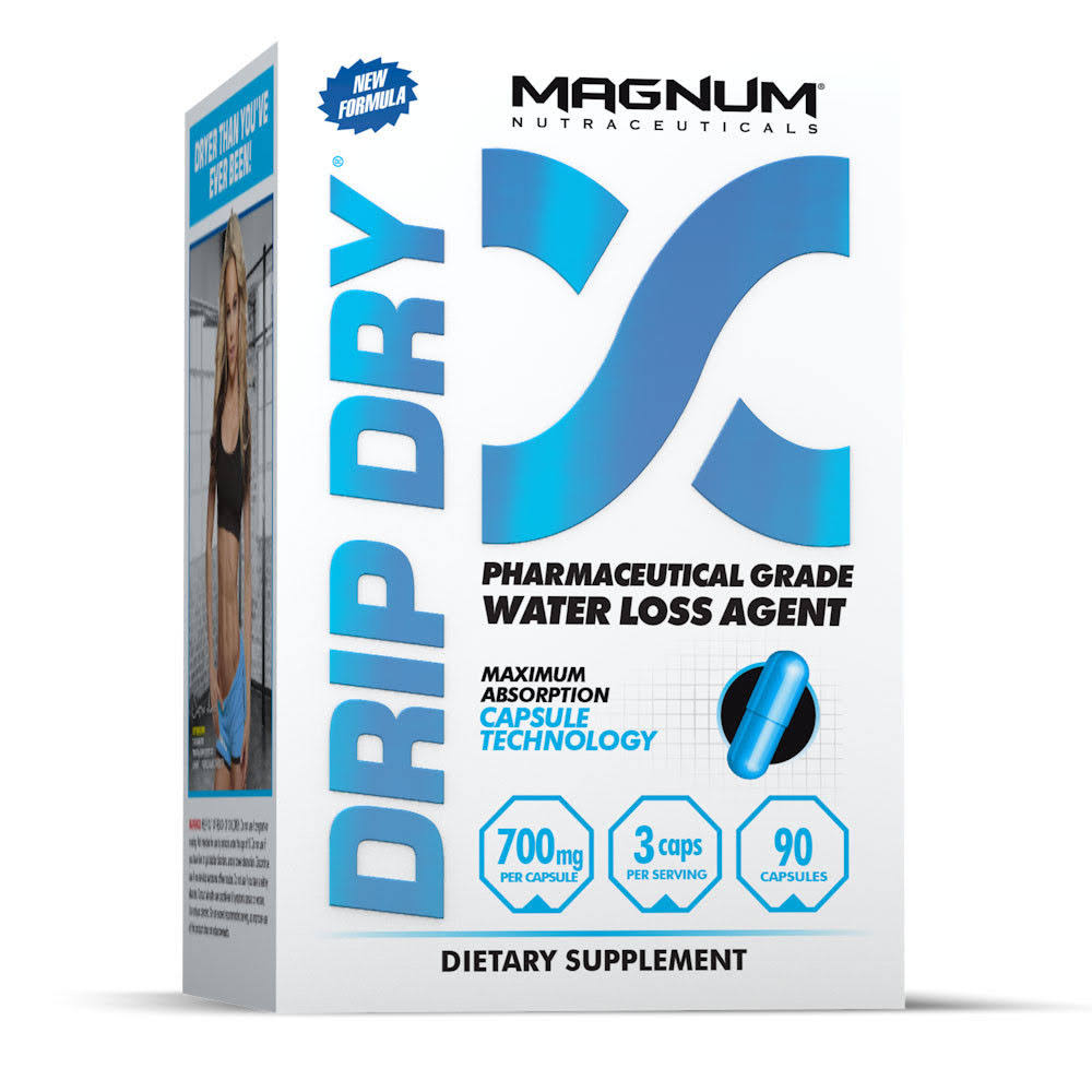 Magnum Nutraceuticals Drip Dry Dietary Supplements - 90ct