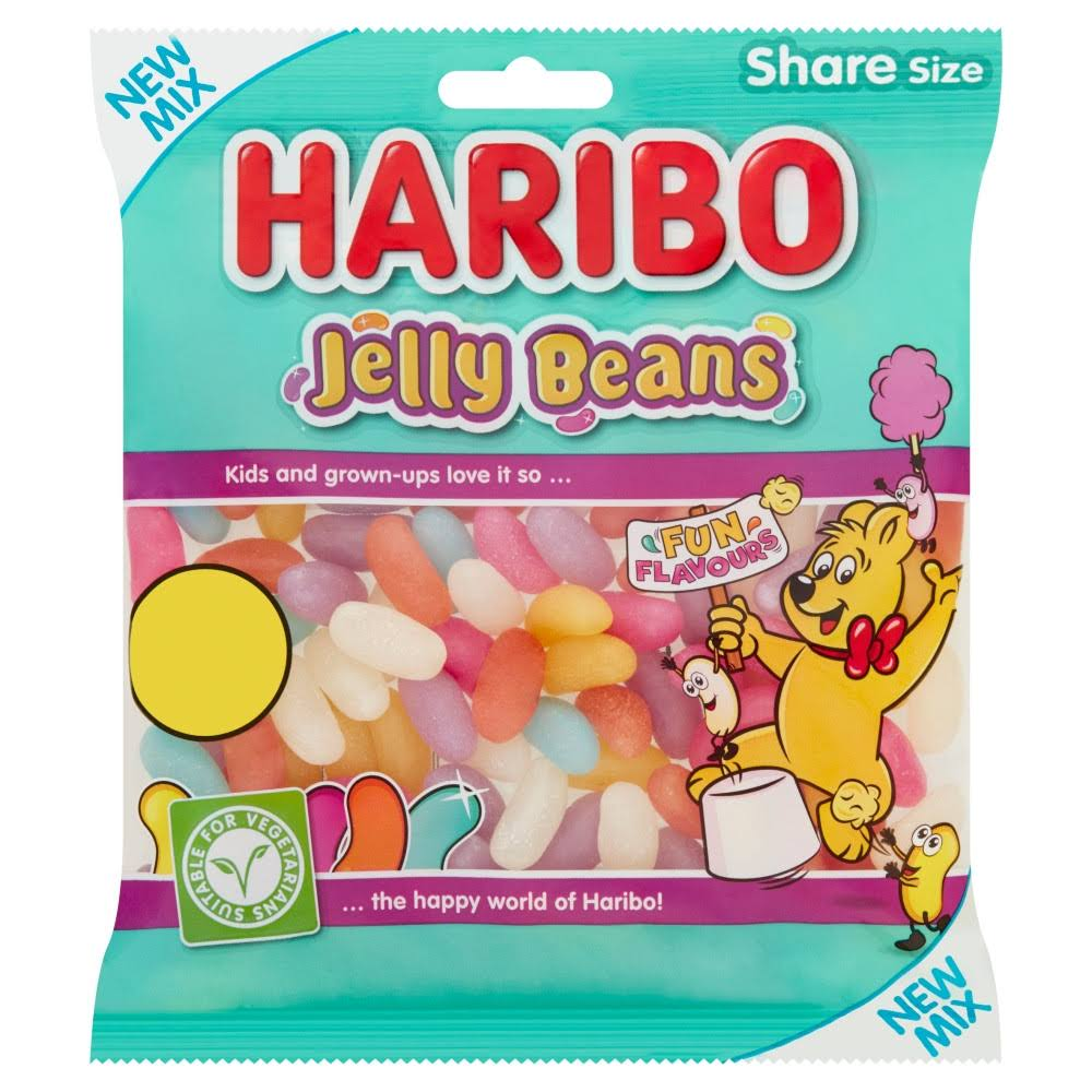 Haribo Jelly Beans Bag - 140g
