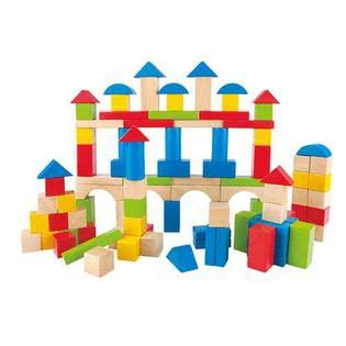 Hape Building 100-Piece Block Set