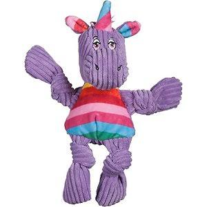 Hugglehounds 51003964 Rainbow Unicorn Knottie Dog Toy - Small