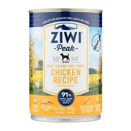 Ziwi Peak Canned Chicken Dog Food - 390g