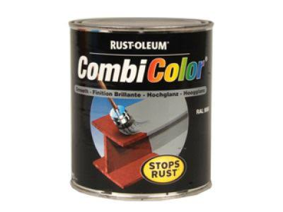 Rust-Oleum Black Metal Paint Gloss CombiColor Original Paint 250ml