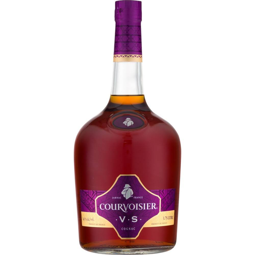 Courvoisier Cognac VS Whiskey - 1.75 L bottle