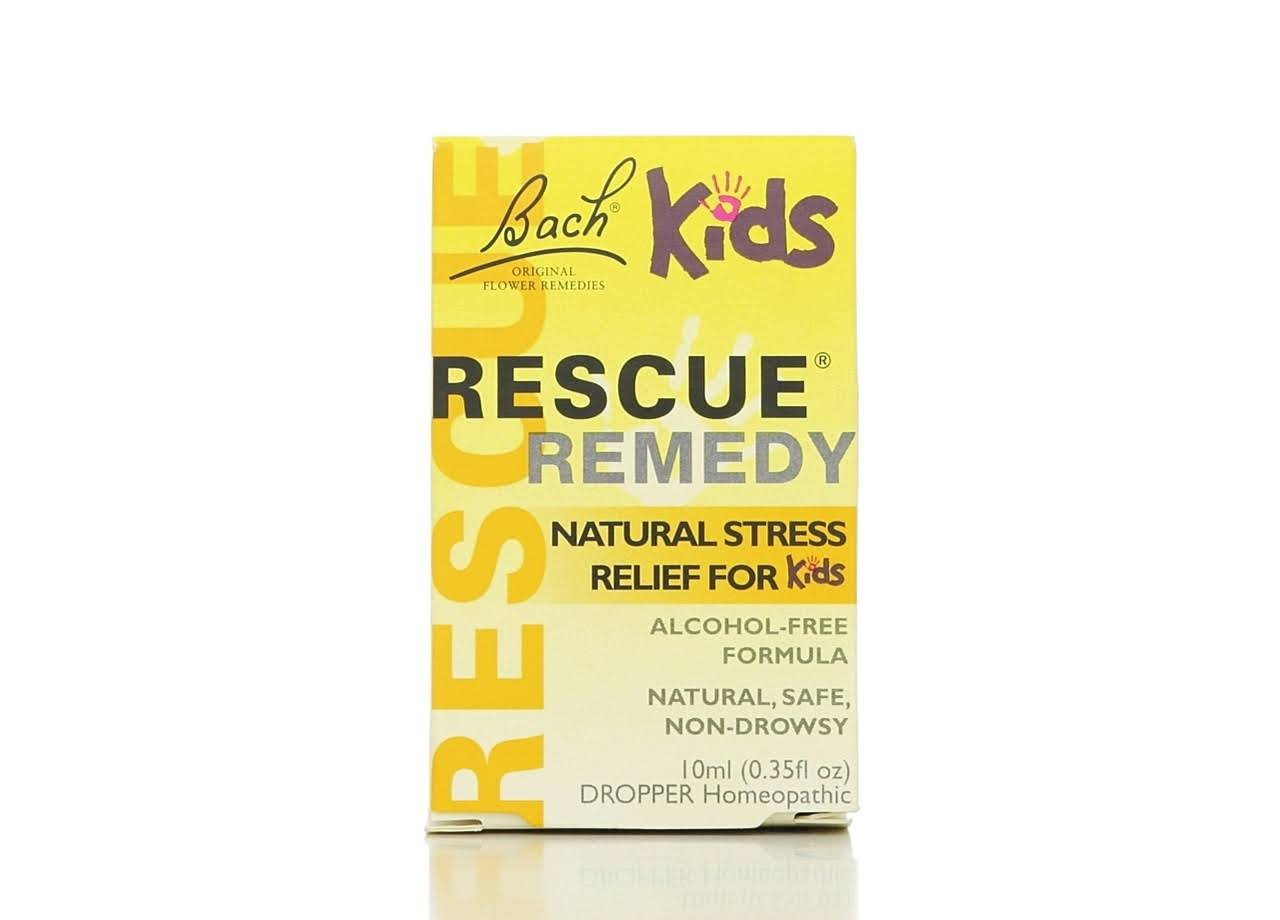 Bach Kids Rescue Remedy Natural Stress Relief Drops - 10ml