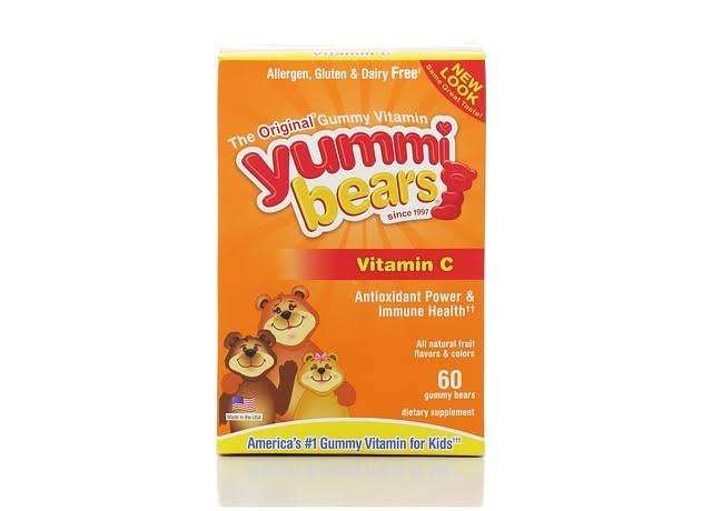 Yummi Bears Vitamin C Dietary Supplement - 60 Gummies