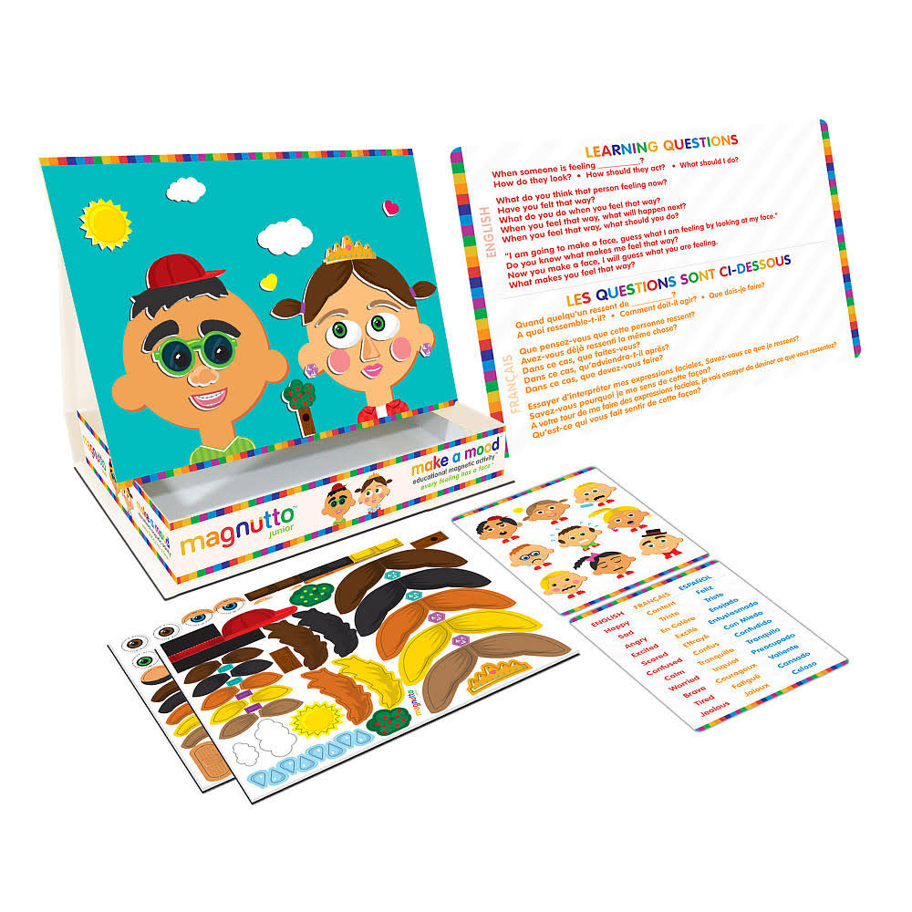 Magnutto Make a Mood Educational Magnetic Activity Set
