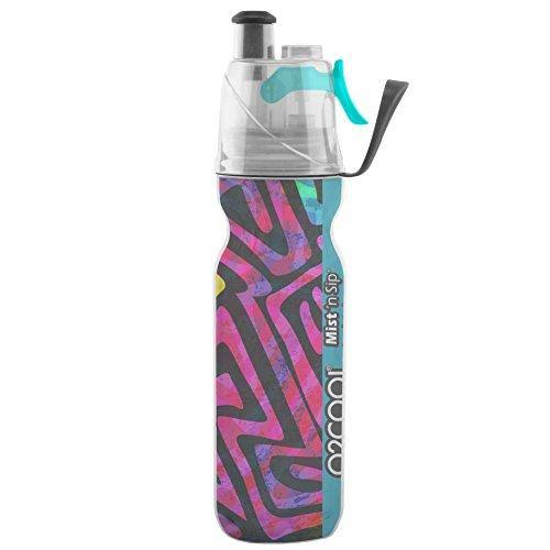 O2cool ArcticSqueeze Insulated Mist N SIP Squeeze Bottle - 20oz, Artist 4