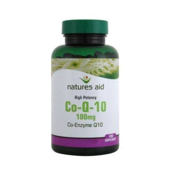 Natures Aid High Strength Co-Enzyme Q10 Food Supplement - 100mg, 30ct