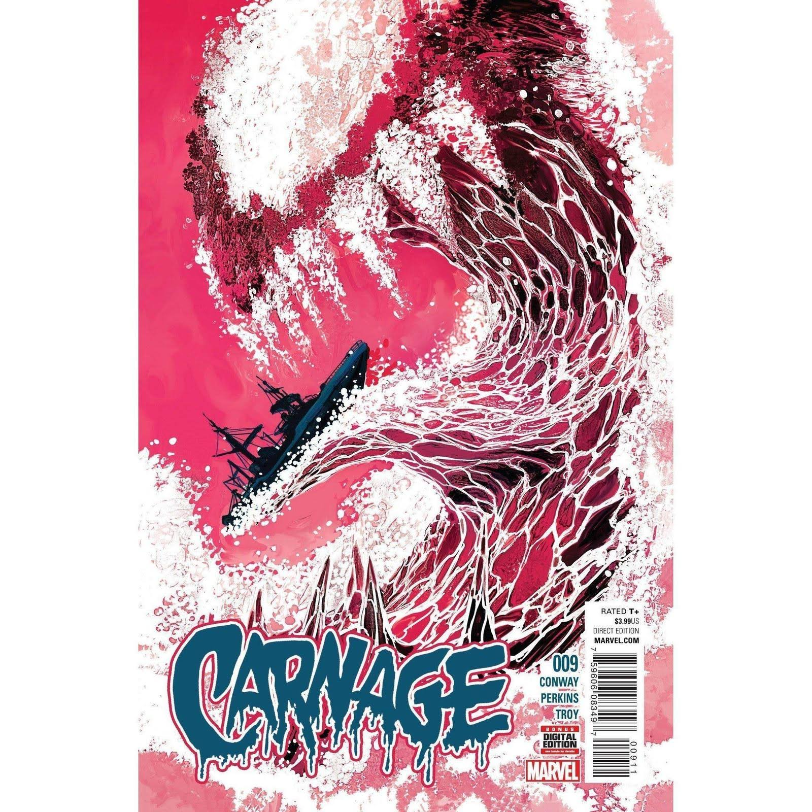 Carnage #1 - Marvel Comics