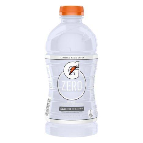 Gatorade Zero Sugar Glacier Cherry Thirst Quencher 28 Fluid Ounce Plastic Bottle
