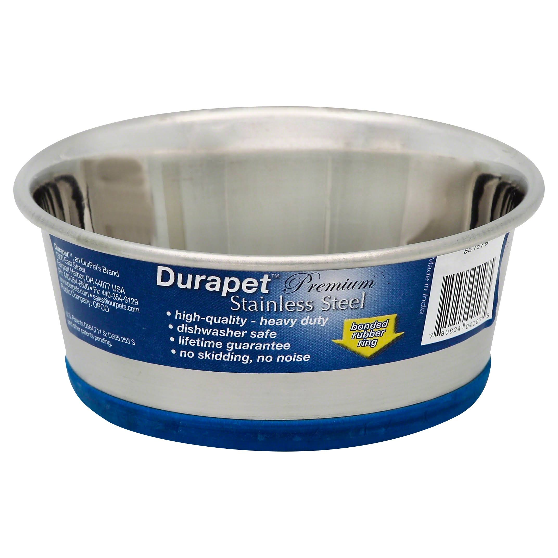 Durapet Bowl - Stainless Steel