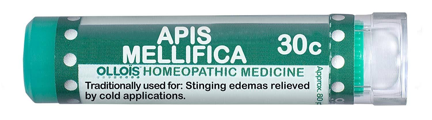 Ollois 30C Pellets Homoeopathic Medicines Apis Mellifica - 80 Count