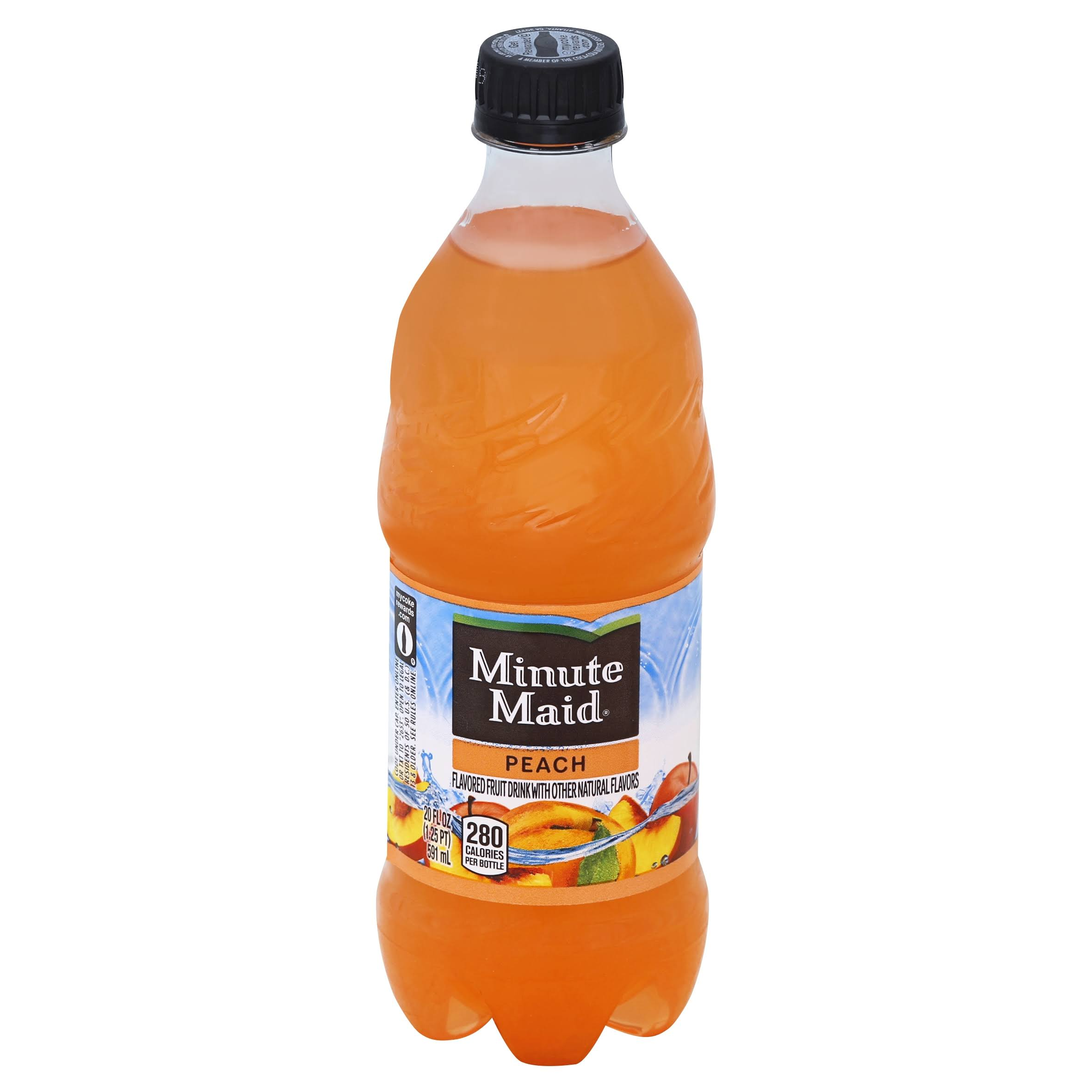 Minute Maid Flavored Fruit Drink - 20oz, Peach