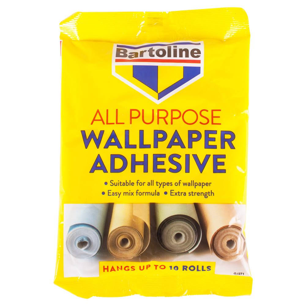 Bartoline 59942750 All Purpose Wallpaper Adhesive - 10 Roll, 12pt