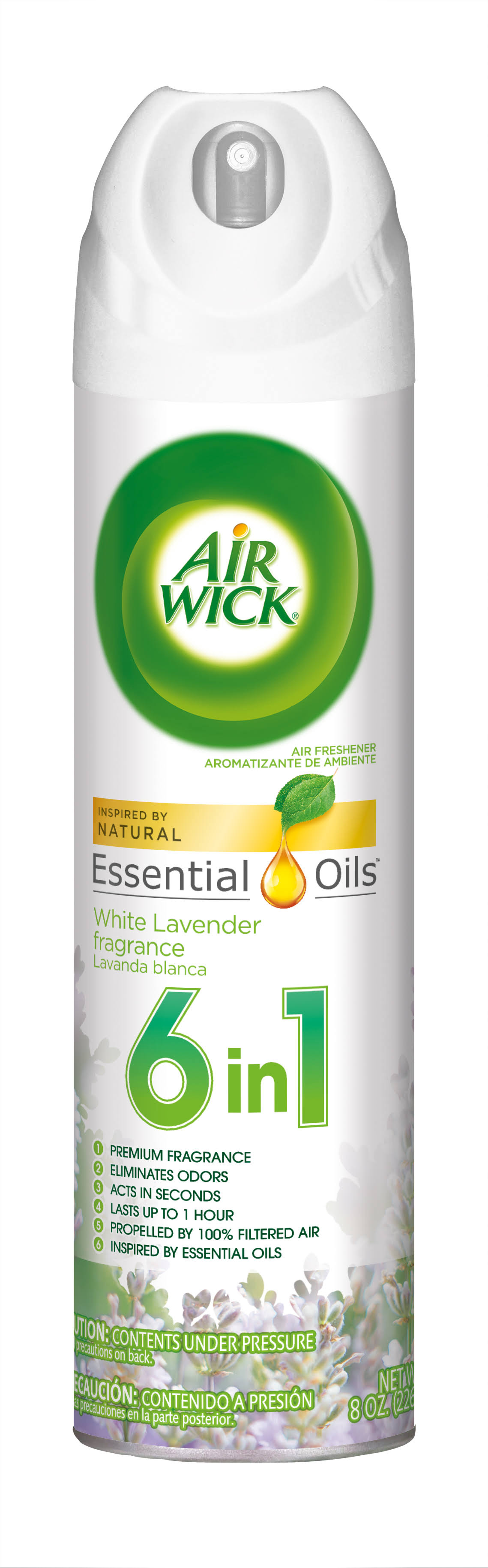 Air Wick Familiar Favorites Air Freshener, Snuggle, White Lavender Fragrance - 8 oz