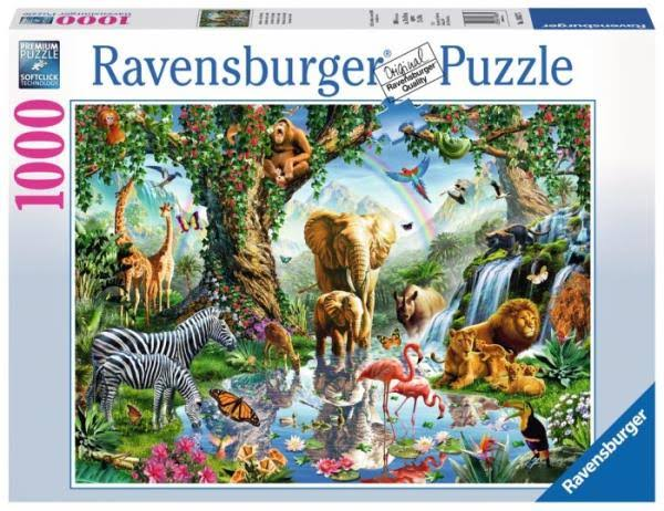 Ravensburger Adventures in the Jungle Jigsaw Puzzles - 1000pcs