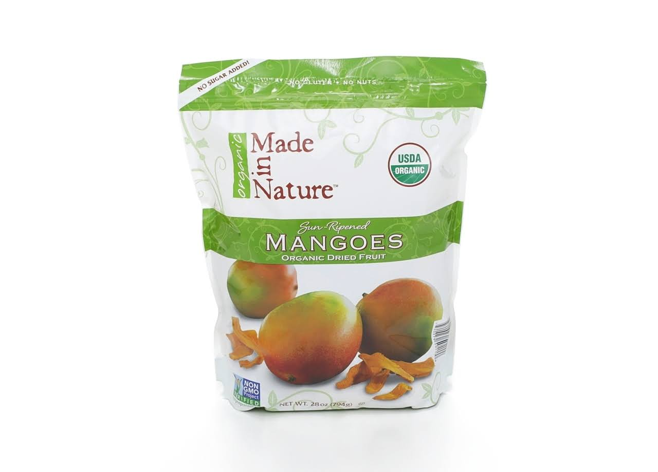 Made In Nature Organic Dried Mangos - 28 oz bag