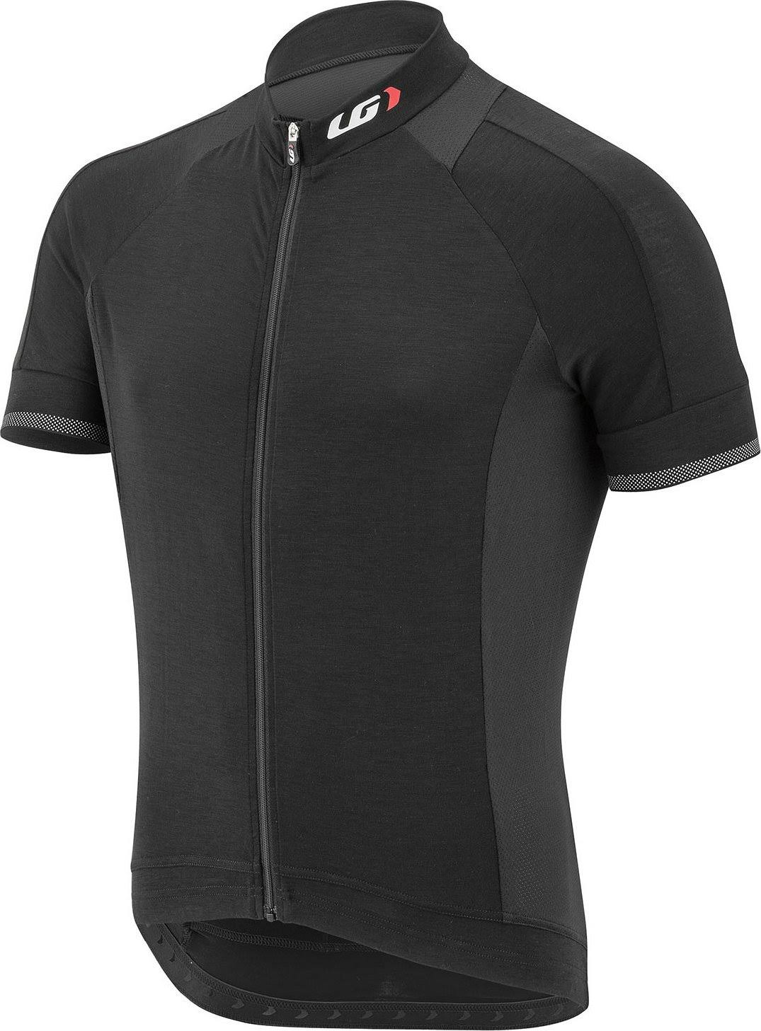 Louis Garneau Men's Lemmon 2 Jersey-BLACK