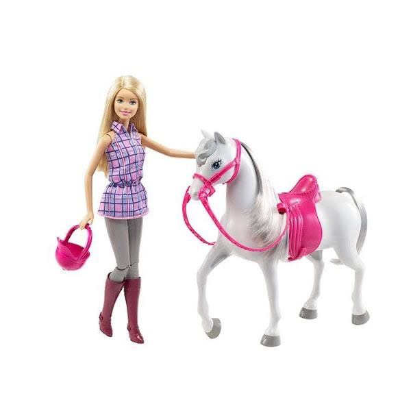 Barbie Doll & Horse Set