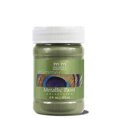 Modern Masters Shimmer Metallic Paint - 177ml, Flash Blue