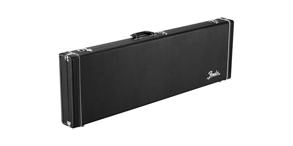 Fender Classic Series Wood Case for Precision Bass & Jazz Bass - Black