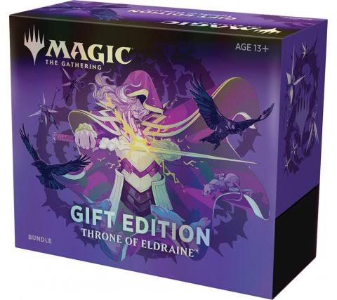 Magic The Gathering Throne of Eldraine Bundle Gift Box
