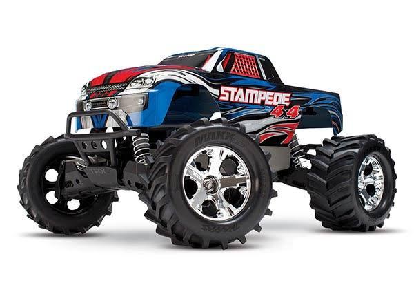 Traxxas Stampede 4x4 Remote Control Monster Truck - 1:10 Scale