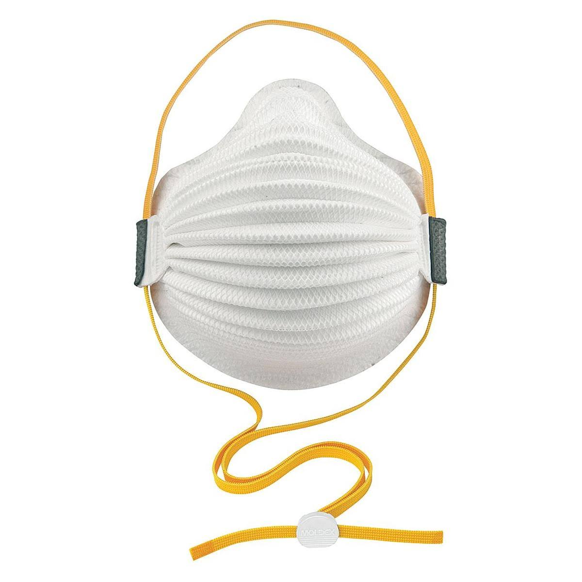 Moldex 4300P95 P95 Disposable Respirator, M/L, White, PK8