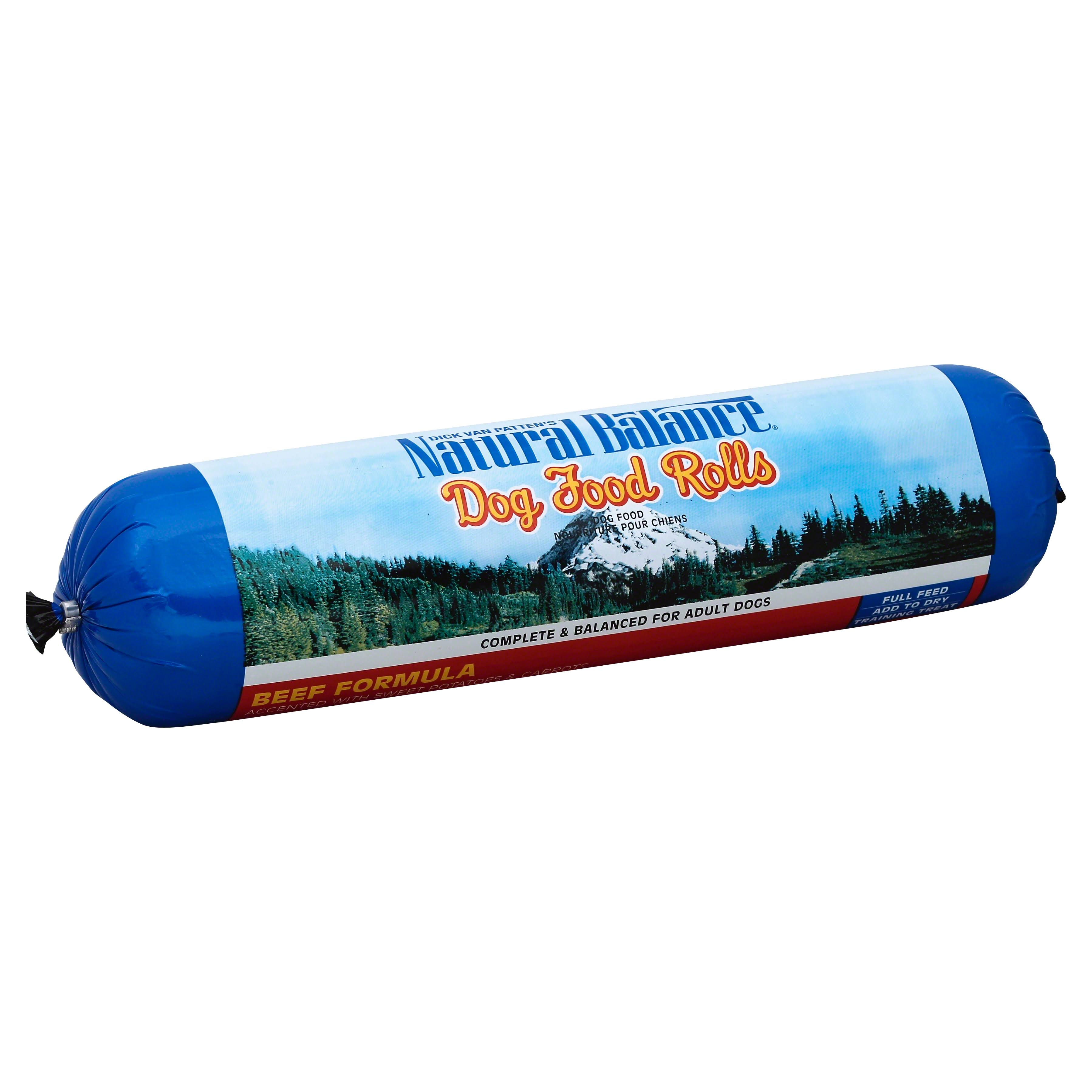 Natural Balance Dog Food Roll - Beef