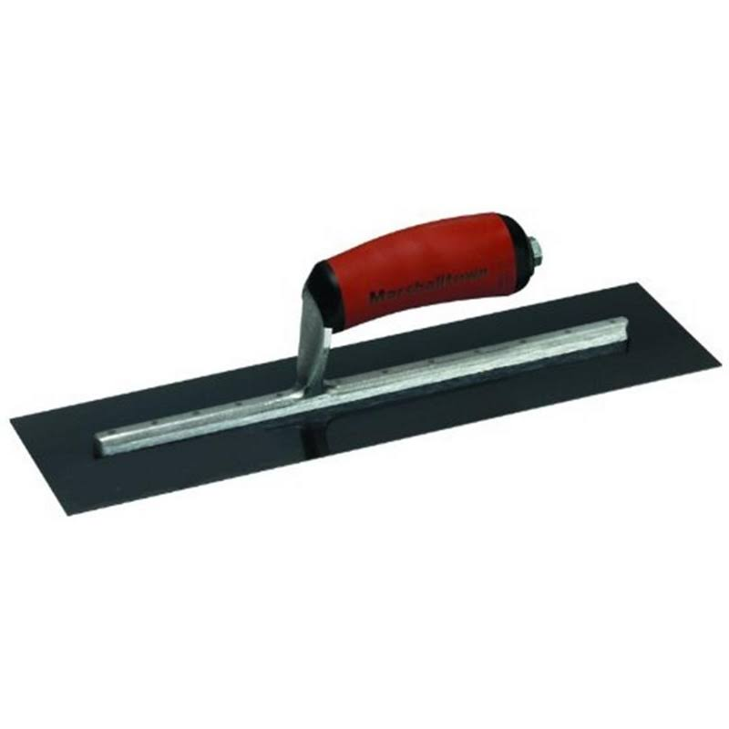 "Marshalltown Blue Steel Blade Concrete Finishing Trowel - 20"" x 5"""