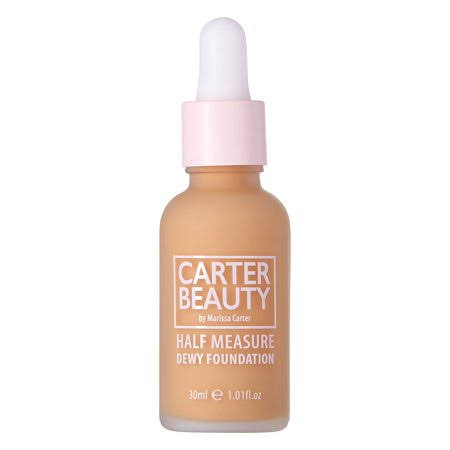 Carter Beauty Half Measure Dewy Foundation - Sticky Toffee