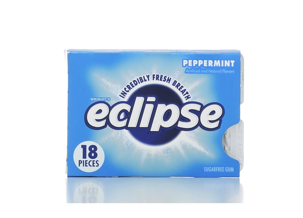 Wrigley's Eclipse Spearmint - 18 Pieces