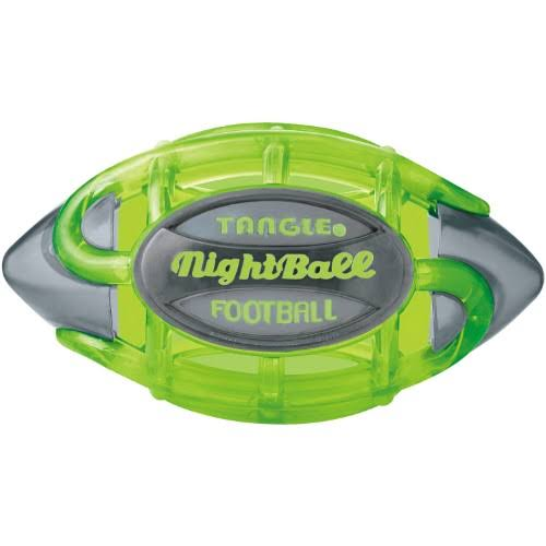 Tangle - NightBall Football Large Green/Gray