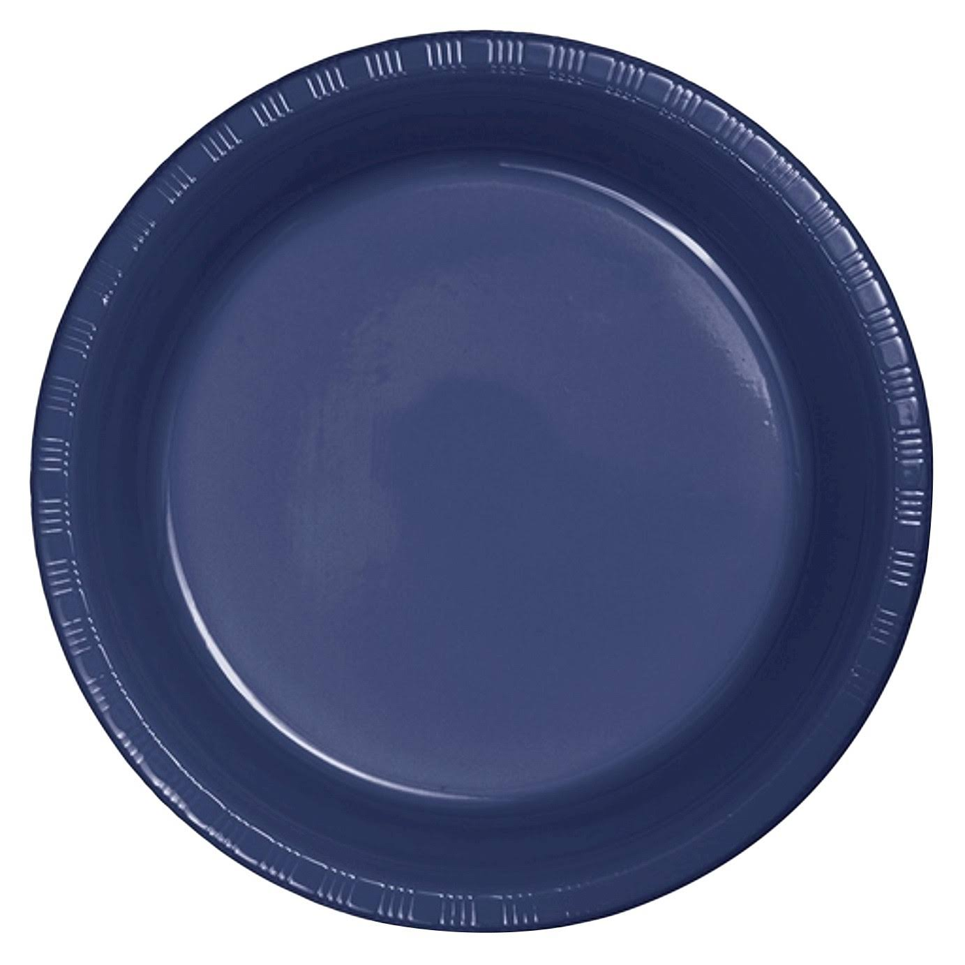 "Creative Converting Touch of Color Plastic Lunch Plates - 7"", 20ct"
