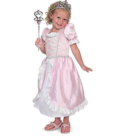 Melissa & Doug 4785 Princess Role Play Costume Set - Pink, 3-6 years