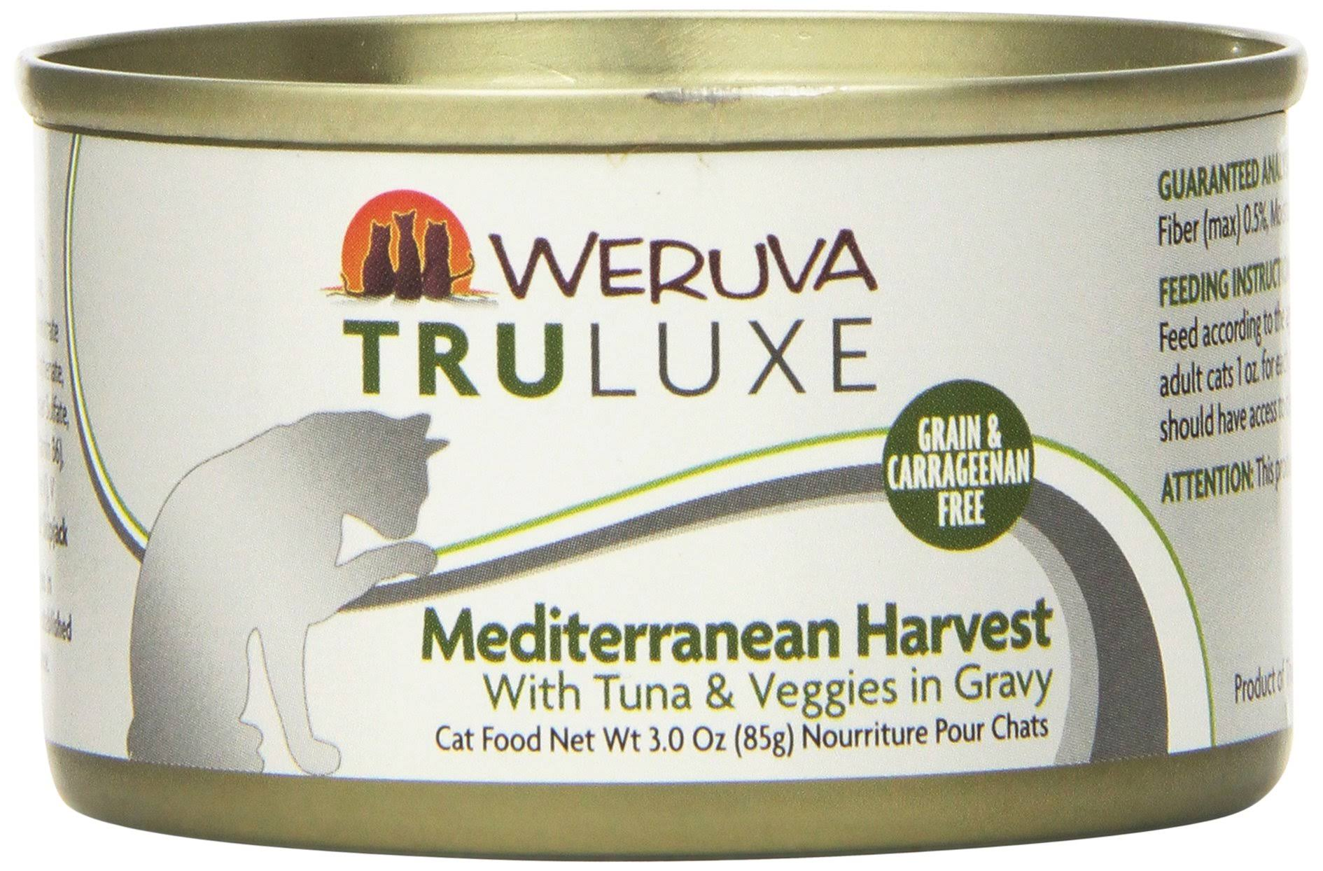 Weruva TRULUXE Canned Cat Food - Mediterranean Harvest 3.0 oz