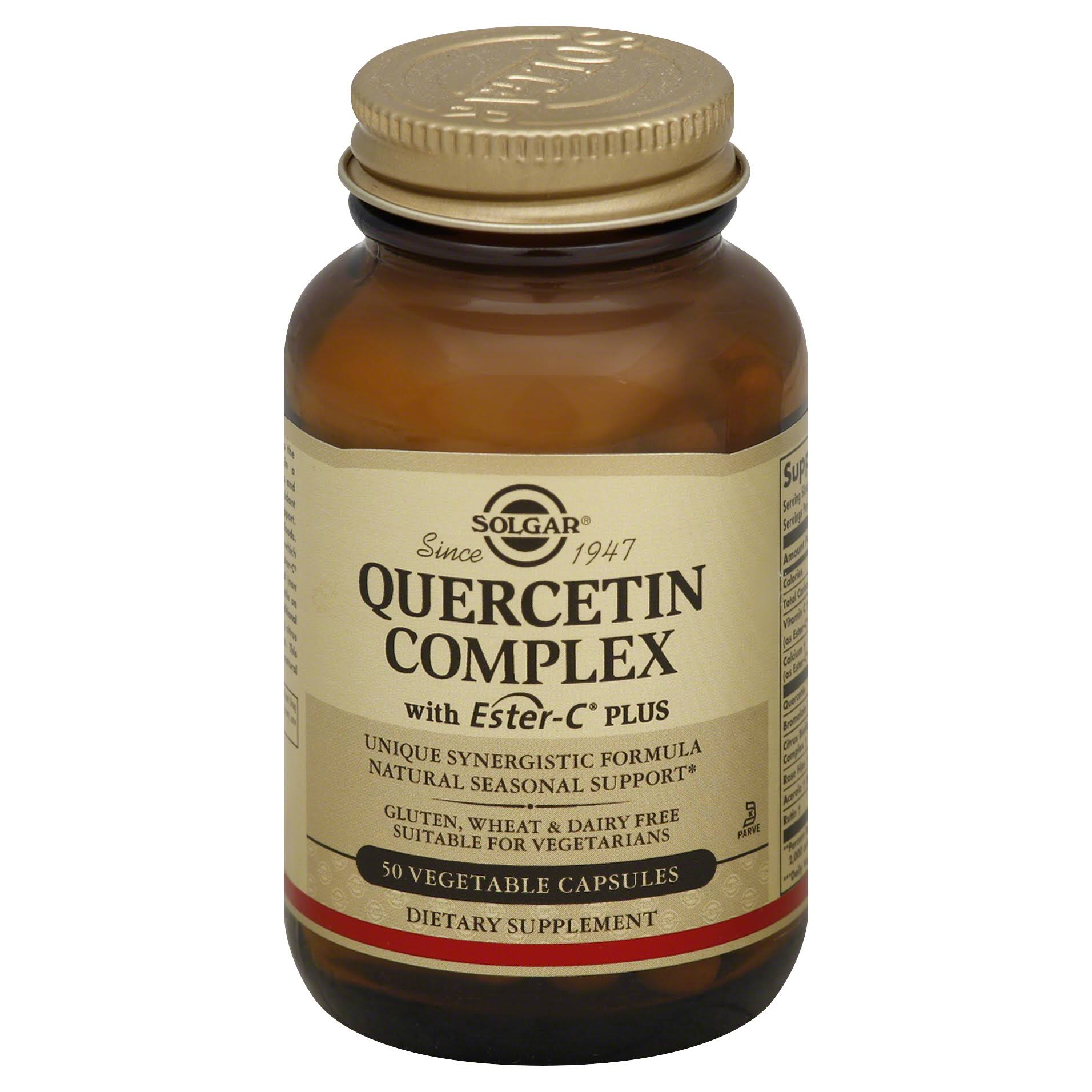 Solgar Quercetin Complex Vegetable - 50 capsules