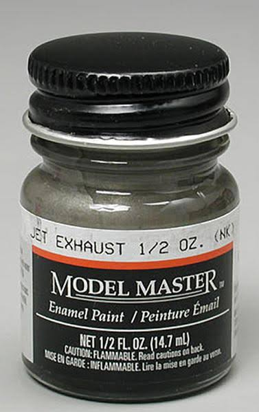 Testors Model Master Enamel Paint - Jet Exhaust, 1/2oz