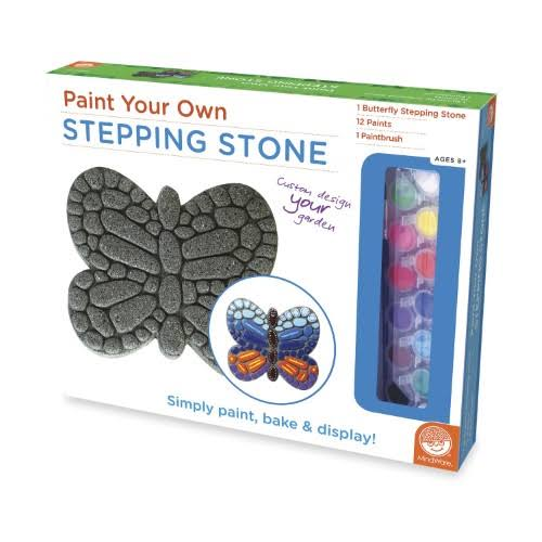Paint Your Own Stepping Stone Craft Kit - Butterfly