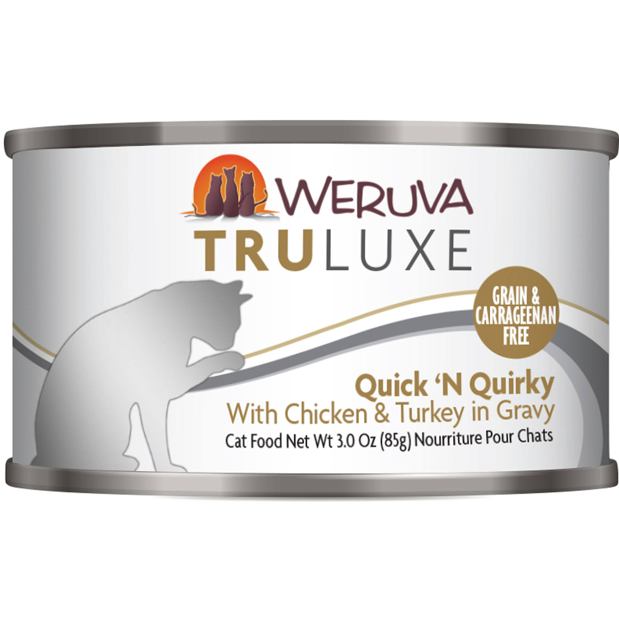 Weruva Grain Free Truluxe Canned Cat Food - Quick 'N Quirky, Adult