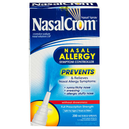 NasalCrom Nasal Allergy Symptom Controller Spray - 26 ml