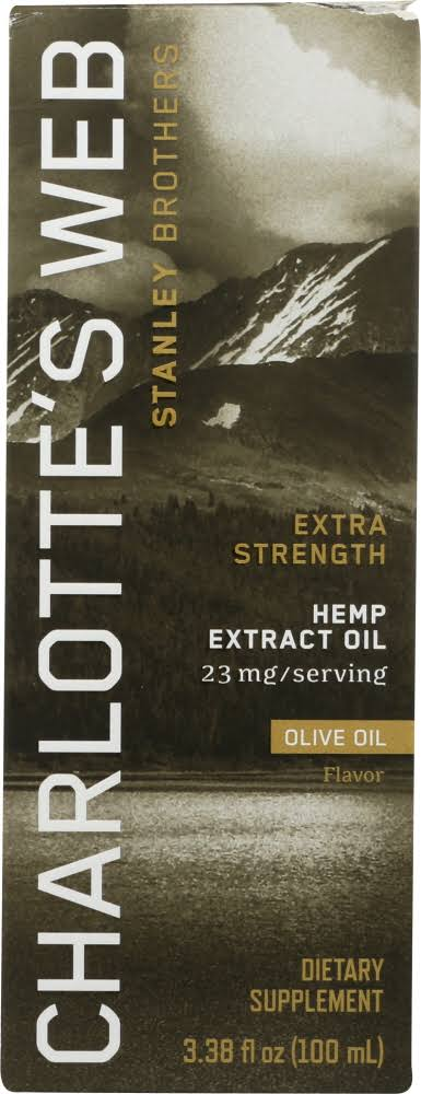 Charlottes Web Everyday Plus Hemp Extract Olive Oil 100 ml