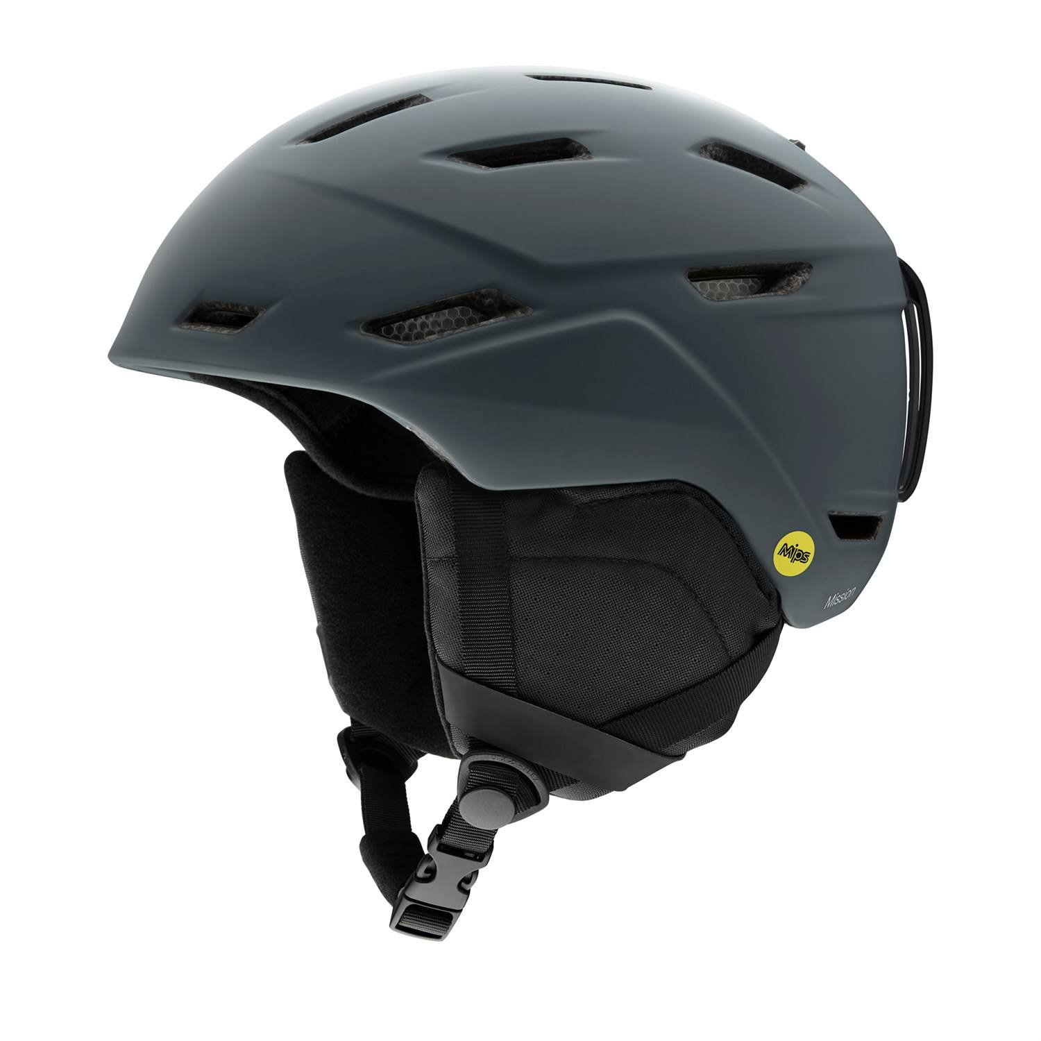 Smith Men's Mission MIPS Helmet - Matte Charcoal