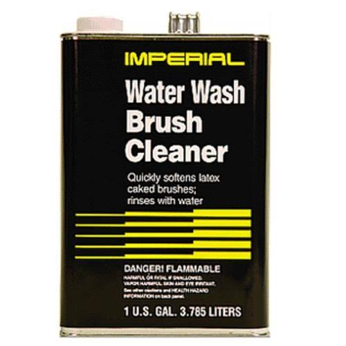 National Paint W39094 Water Wash Brush Cleaner, 1 qt
