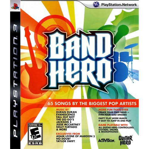 PS3 Band Hero (Game Disc)