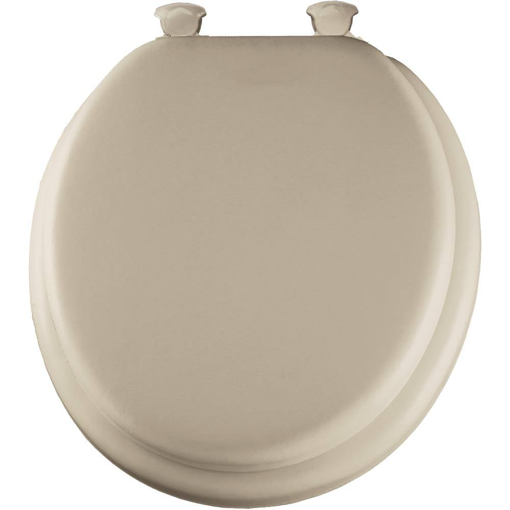 Mayfair Closed Front Soft Toilet Seat - Bone, Round