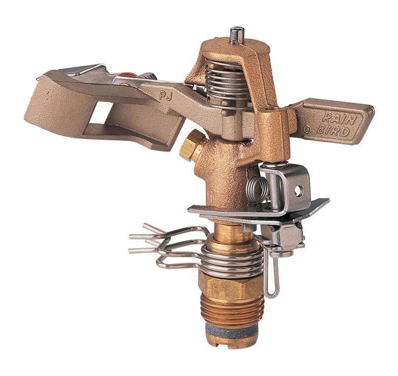 Rainbird Impact Sprinkler Head - Brass