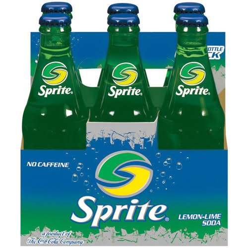 Sprite Lemon-Lime Soda - 8oz, 6 Bottles