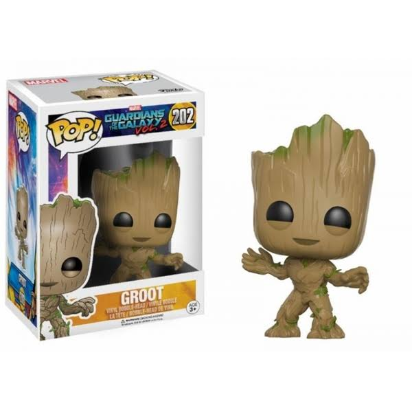 Funko Pop! Movies: Guardians of the Galaxy Volume 2 Vinyl Figure - Baby Groot